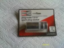 13/16 Champion plug socket, 3/8 drive with rubber insert, made in USA