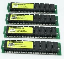 [4 pcs] 4x4MB 30-Pin SIMM 60ns FPM Parity Memory 16MB PC, IBM, Compaq, Sun, HP