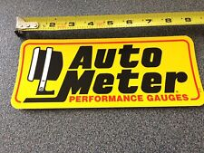 Nascar Authentic Auto Meter Race Car LARGE Contingency  Decals Sticker