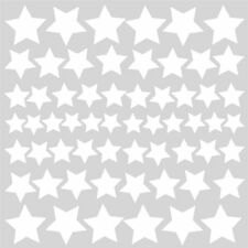 GLOW IN THE DARK STARS 60 Wall Decals Space Room Decor Stickers Solar System NEW