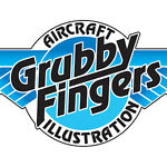 Grubby Fingers Aviation Prints