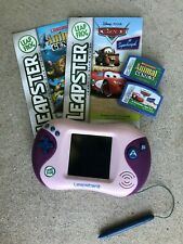 Purple LeapFrog Leapster2 Learning Game System & Games -Tested Works