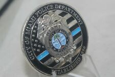 City of Miami Police Department Edgewater Beats Challenge Coin