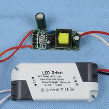 LED regulable Lámpara DRIVER Transformador Cable de alimentación 1-3w/4-7w/