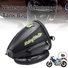 Motorcycle Rear Back Seat Sports Waterproof Tail Tank Bag Luggage Saddlebag AU