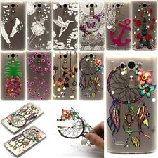 Clear Soft TPU Cute Patterned Silicone Cover Case For LG G3 D855 D850 Optimus