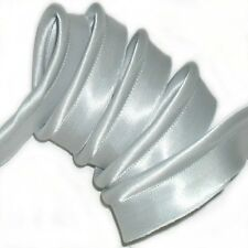 X5 METRES 11MM DOVE GREY BIAS FLANGED INSERTION PIPING ART n0.4 FREE P/&P