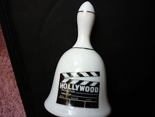 Collectible Vintage Souvenier Hollywood Ceramic/ Porcelain Bell (China-Kwc)