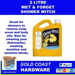 WET & FORGET Shower Witch - Shower and Bathroom Cleaner - 2L