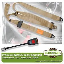 Front Static Seat Belt For Wolseley Six Saloon 1967-1975 Beige