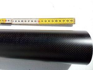 Bompresso in fibra carbonio imbarcazione mm50 est x mm45 int L. 1500mm