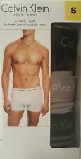 Genuine Calvin Klein Underwear CK Men's Boxer Trunk Briefs 3PK Undies Small Sml