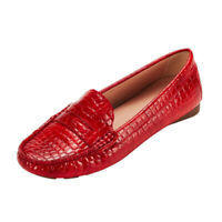 Women's Penny Loafers Shoes Slip-On Comfortable Driving Moccasins Ballet Flats