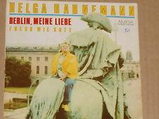 """HELGA HAHNEMANN -Berlin, meine Liebe- 7"""" 45 Amiga"""