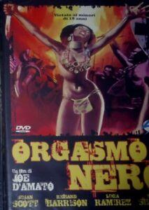 ORGASM0 NERO DVD SEALED OOP RARE-JOE D'AMATO