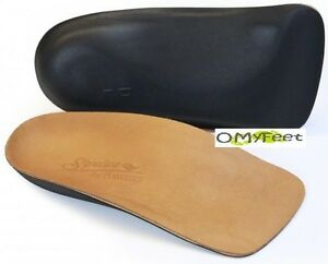 3/4 Powerstep Signature Leather Orthotic Insole Power Step Size Men 9 Women 11