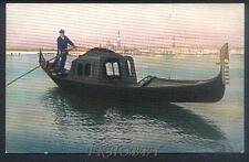 CPA Italia Venice Venezia Gondola Gondolier i41