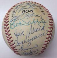 JOHN FRANCO JEFF KENT BONILLA 1994 NEW YORK METS Team Signed Autograph Baseball