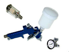 HVLP Air Touch up Spray Gun + Water & oil  Separator + Air regulator with gauge