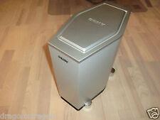 Sony ss-ws500 subwoofer, argento, molto raro, 2 ANNI GARANZIA