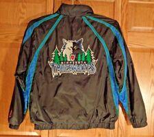 MN Timberwolves~NBA~G-III Carl Banks~Jersey Lined Hooded~Wind Jacket~Mens Sz L