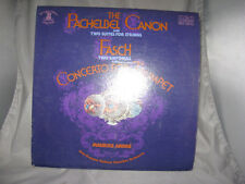 Pachelbel Canon Two Suites Fasch Maurice Andre Red Seal Jean-Francois Paillard