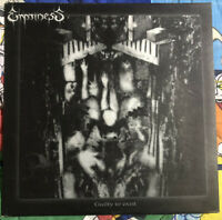 EMPTINESS guilty to exist LP first press cannibal corpse nile absu taake death