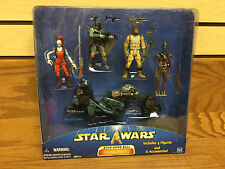 Star Wars SAGA Ultimate Bounty Action Figure BOBA FETT Bossk IG-88 Aurra Sing