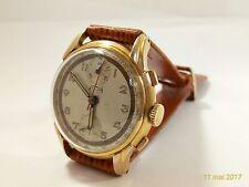 Vintage montre bracelet TELDA  CHRONOGRAPHE SUISSE Venus 170 chronograph 1940