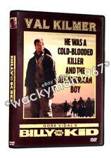 Gore Vidal's BILLY THE KID DVD (1989) Val Kilmer Rene Auberjonois Julie Carmen