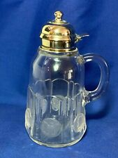 Rare EAPG U.S. Glass Columbian Coin pattern syrup pitcher