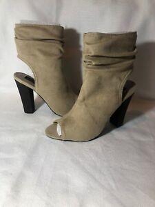 London Rebel Ankle High Boot Like Heels Size 7 BNIB