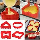 Lot de 8pcs Magique Moule à Gâteau Modulable pour Forme Cœur et Autres Cake NeuF