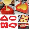 Lot de 4pcs Magique Moule à Gâteau Modulable pour Forme Cœur et Autres Cake NeuF