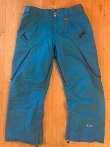 Men's OAKLEY Snowboard Ski Snow Pants XL 38