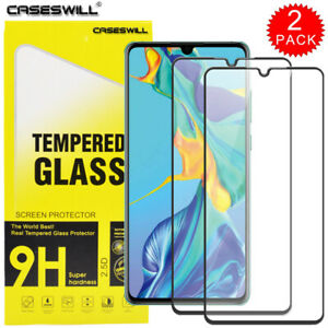 For Huawei P40 P30 P20 Lite Mate 40 Pro 9H Tempered Glass Full Screen Protector