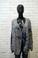 Mantella Donna DESIGUAL Vintage Taglia XL Cardigan Sweatshirt Women's Maglia