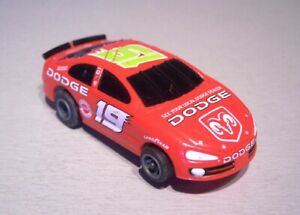 Life Like Nascar Dodge # 19 pour circuit routier Ho Tyco Afx Tomy