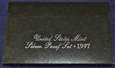 1997-S Silver Proof Set United States US Mint w/COA - Free Shipping