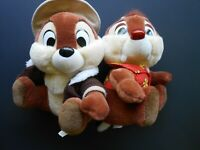 1989 Vintage Plush Disneyland Walt Disney World Chip & Dale Rescue Rangers
