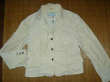 STREET ONE hellbeiger Nadelkord Stretch Blazer Damen 44 Jacke tailliert #58