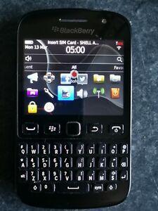 BlackBerry Curve 9720 - Black (Vodafone) Smartphone