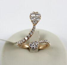 Anello in Oro Rosa 18kt e Diamanti bianchi Jovane Milano mod. Serpente ref. J25
