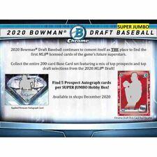 2020 Bowman Draft SUPER Jumbo Baseball *6-Box* CASE BREAK! STL Cardinals! #2