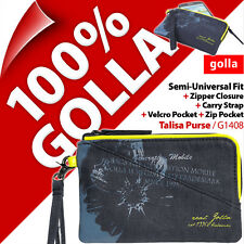 Golla Purse Wallet Phone Case Bag with Carry Strap for Apple iPhone SE 5S 5C 5