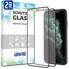 2x 11D Glas für iPhone 12 11 X XS XR Pro Max Mini Panzer Folie Hartglas Schutz