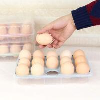 Eg _ Fm- Ne _ 15 Uova Custodia Conservazione Alimenti Contenitore Plastica