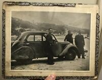 Nice Voiture de Collection Ancienne Photo Photographie Vintage Car French
