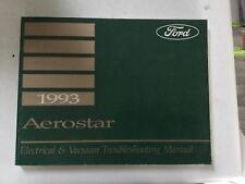repair manuals \u0026 literature for 1993 ford aerostar ebay