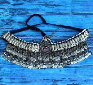 Kashmiri Tribal Headpiece Dance Headband Ethnic Head Band Kuchi Headdress Choker